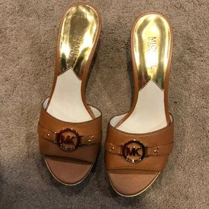 Michael Kors Brown Tilly Mule